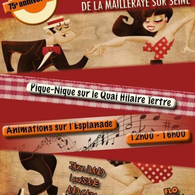 75ème anniversaire de la libération de La Mailleraye 2019