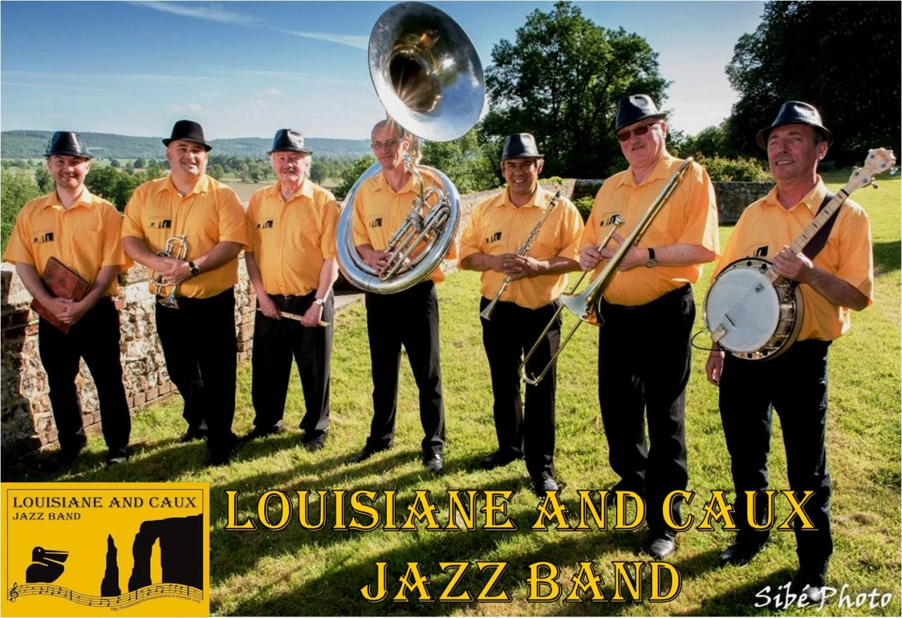 Louisiane And Caux Jazz Band 2017