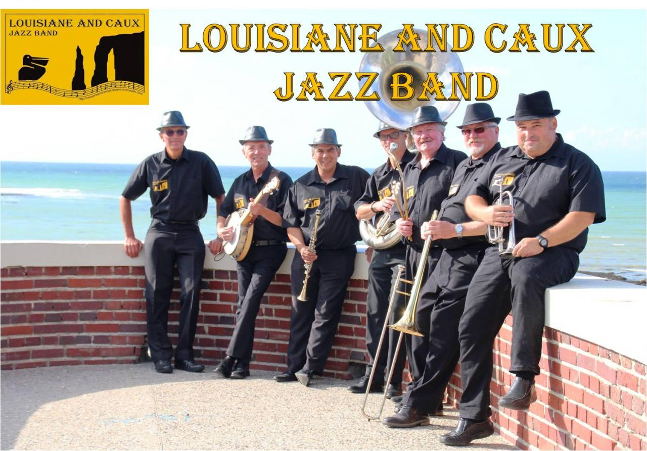 Photo Louisiane And Caux Jazz Band