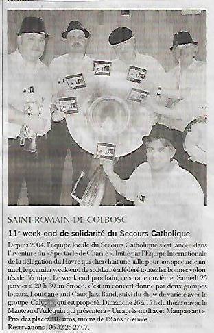 11eme soiree du secours catholique 250117